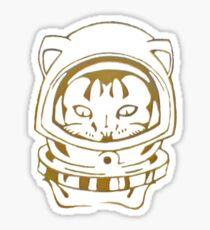 OLD SCHOOL SPACE CAT SMARTPHONE CASE (Graffiti) Sticker