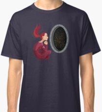 Quiet Time in Space Classic T-Shirt
