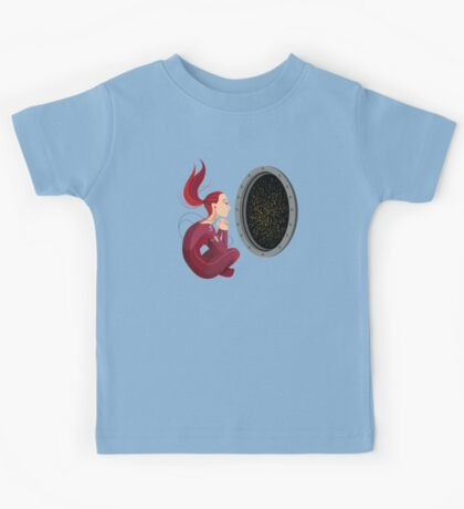 Quiet Time in Space Kids Clothes