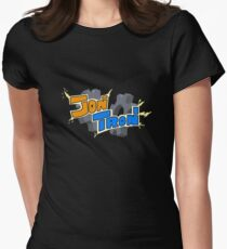 JonTron Custom Logo Women's Fitted T-Shirt