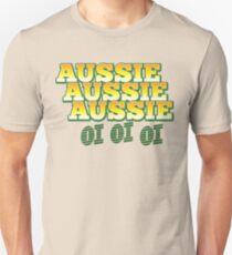Aussie Aussie Aussie OI OI OI !  Australian chant for Australia day T-Shirt