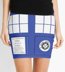Police Box Mini Skirt