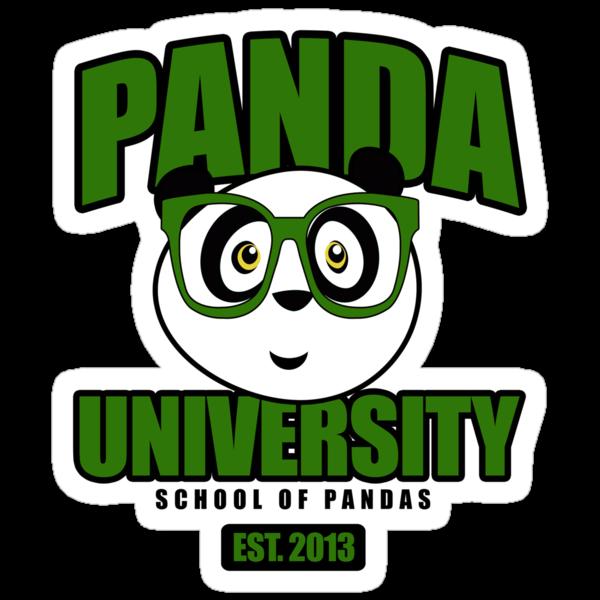 Panda University - Green 2 by Adamzworld