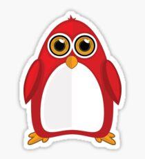 Red Penguin 2 Sticker