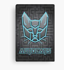 Autocats Transformers Canvas Print