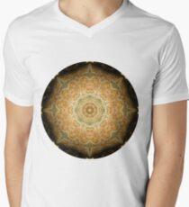 Camiseta de cuello en V Merry Meet Mandala