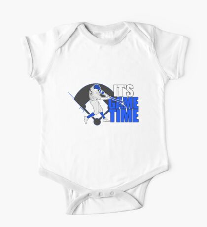 It's Game Time - Baseball (Blue) Kids Clothes