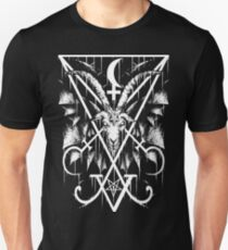 SIGIL OF LUCIFER AND BAPHOMET Unisex T-Shirt