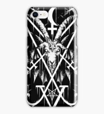 SIGIL OF LUCIFER AND BAPHOMET iPhone Case/Skin