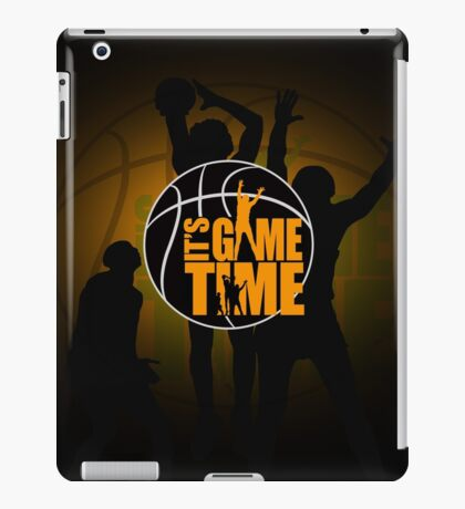 It's Game Time - Yellow iPad Case/Skin