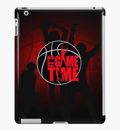 It's Game Time - Red iPad Case/Skin
