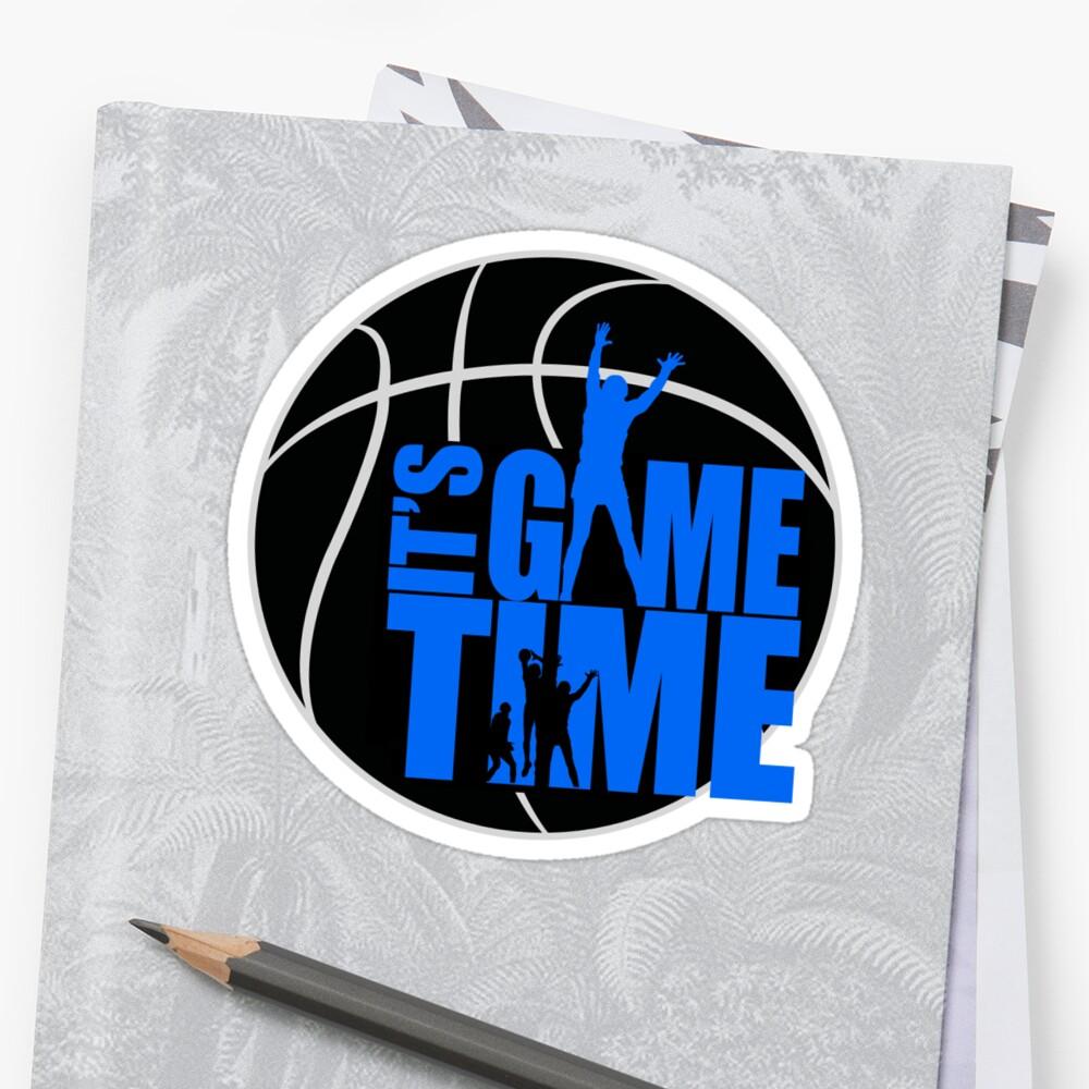 It's Game Time - Blue by Adam Santana