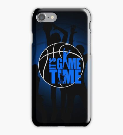 It's Game Time - Blue iPhone Case/Skin