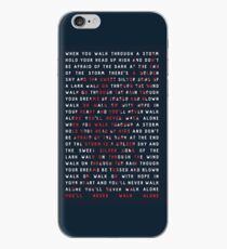 You'll Never Walk Alone iPhone Case