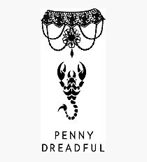 Penny dreadful-scorpion Photographic Print
