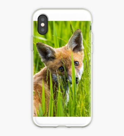 Fox Cub iPhone Case