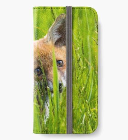 Fox Cub iPhone Wallet
