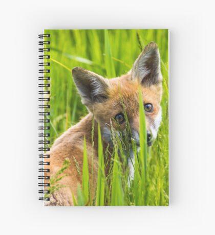 Fox Cub Spiral Notebook