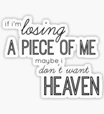Heaven Lyrics - Troye Sivan  Sticker