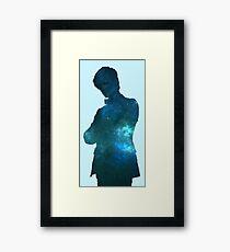 Matt Space Framed Print