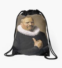Franz Hals,  Portrait of a Man,  Drawstring Bag
