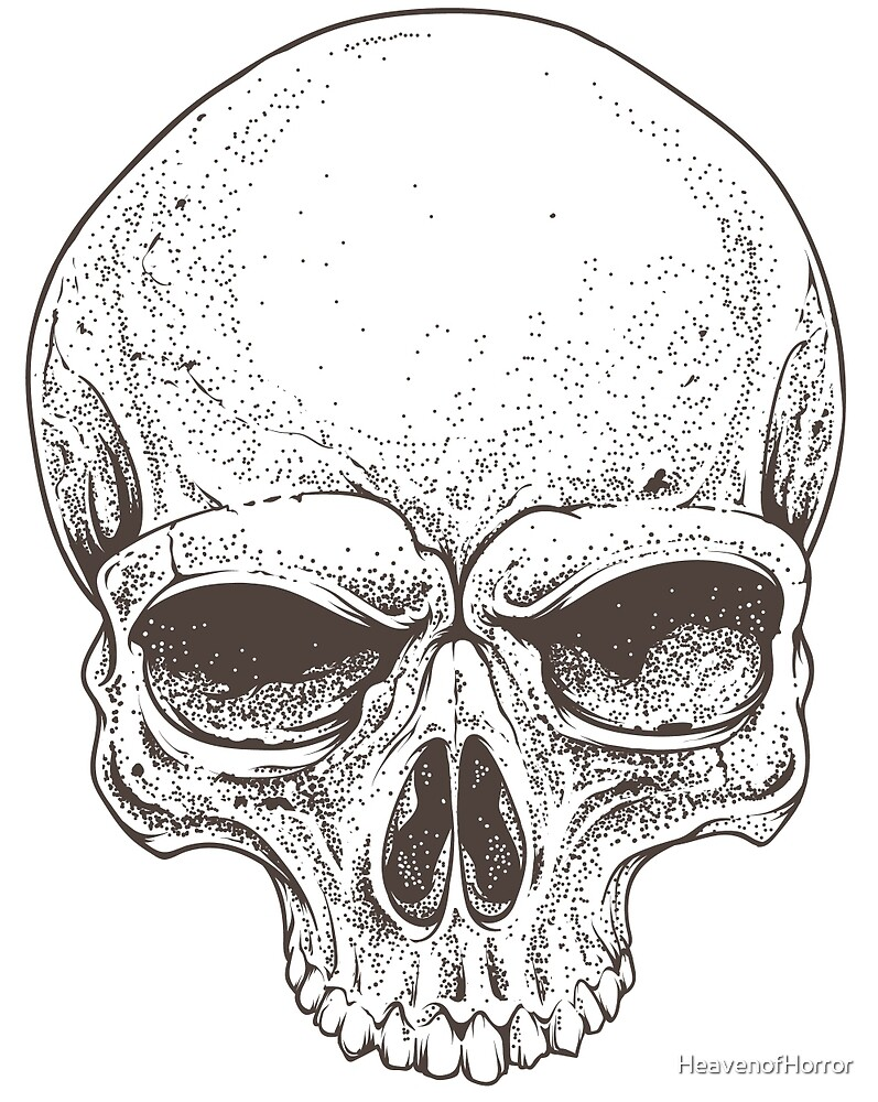 how to make a realistic skull