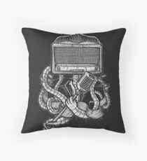 Robot Rock Throw Pillow
