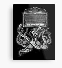 Robot Rock Metal Print