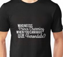 Prince Charming - Will Herondale Unisex T-Shirt