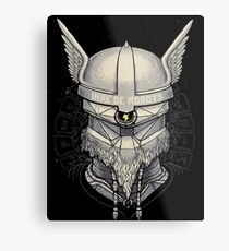 Viking Robot Metal Print
