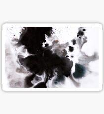 Abyss - Indian Ink & Dye Splatter Sticker