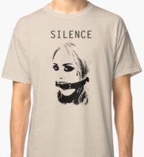 Silence, Mouth Gag. BDSM T-shirt Classic T-Shirt