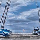 Whitstable Harbour Kent UK  by Sandra Rossouw