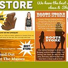 Boots Store by fringeheels