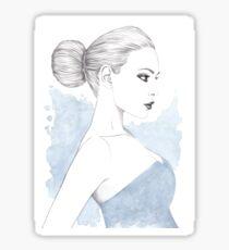 Beautiful Belle Sticker
