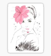Adorable Amy Sticker