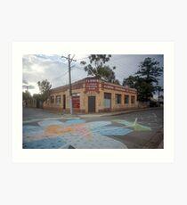 Streetscape - the Furrier Art Print