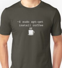 Command Line Coffee Install T-Shirt