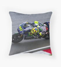 Valentino Rossi Throw Pillow