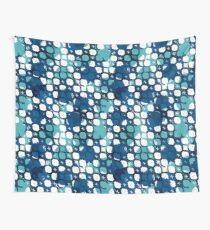 Blue texture Wall Tapestry