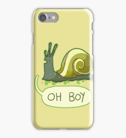 Oh Boy iPhone Case/Skin
