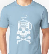 Death Before Decaf!  Unisex T-Shirt