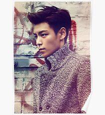 TOP BigBang Kpop Korea Choi Seung Hyun Poster