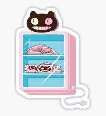 Cookie Cat Freezer Sticker