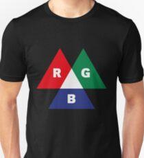RGB Mode (Red - Green - Blue) Unisex T-Shirt
