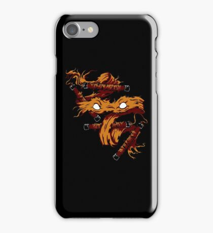 Orange Rage iPhone Case/Skin
