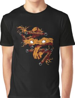 Orange Rage Graphic T-Shirt