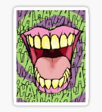 A Killer Joke - spiral Sticker
