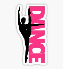 Dance Text Girl Quote Sticker