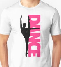 Dance Text Girl Quote Unisex T-Shirt